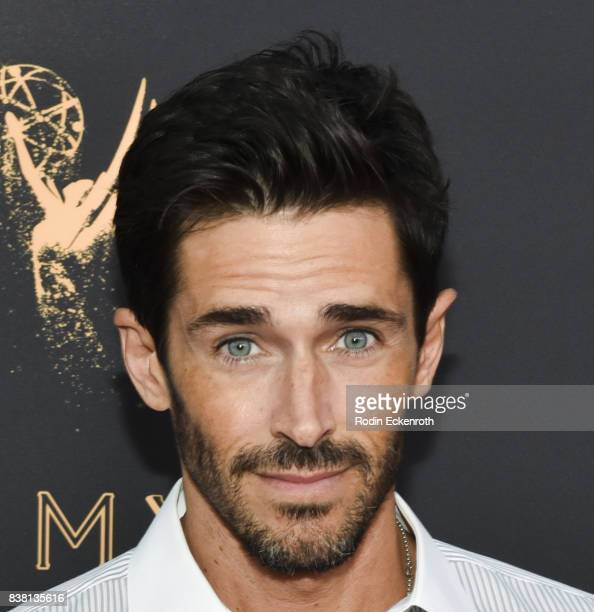 Actor Brandon Beemer attends the Television Academy's Cocktail Reception with Stars of Daytime Television Celebrating 69th Emmy Awards at Saban Media...
