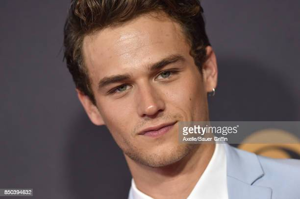 Actor Brandon Flynn arrives at the 69th Annual Primetime Emmy Awards at Microsoft Theater on September 17 2017 in Los Angeles California