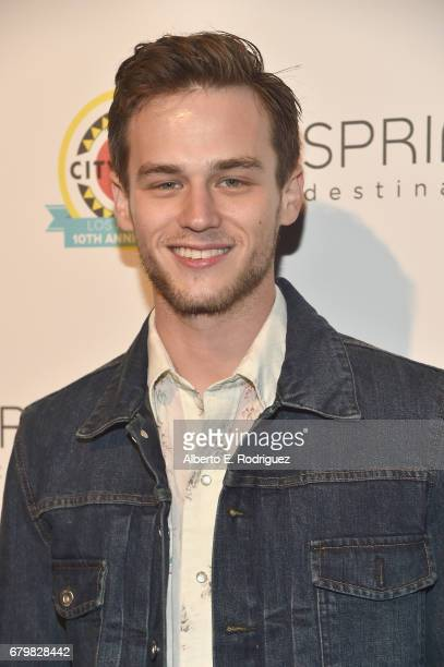 Actor Brandon Flynn attends City Year Los Angeles Spring Break on May 6 2017 in Los Angeles California