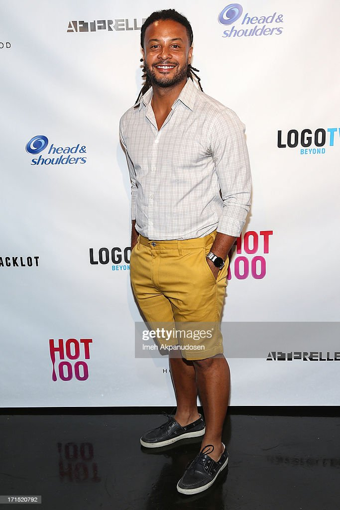 Actor Brandon Jay McLaren attends Logo's 'Hot 100' Party at Drai's Lounge in W Hollywood on June 25, 2013 in Hollywood, California.