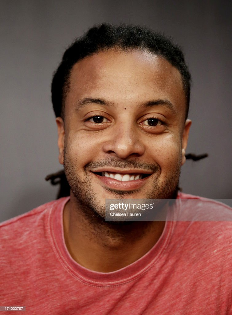 Actor Brandon Jay McLaren attends the 'Dead Before Dawn 3D' at the Movies On Demand Lounge during Comic-Con International 2013 at Hard Rock Hotel San Diego on July 19, 2013 in San Diego, California.