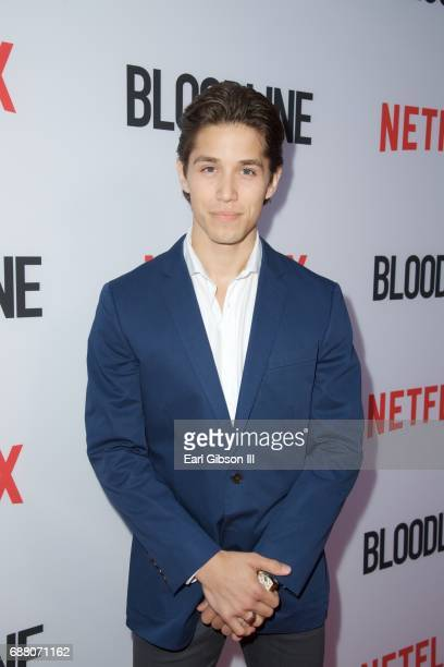 Actor Brandon Larracuente attends the Premiere Of Netflix's 'Bloodline' Season 3 at Arclight Cinemas Culver City on May 24 2017 in Culver City...