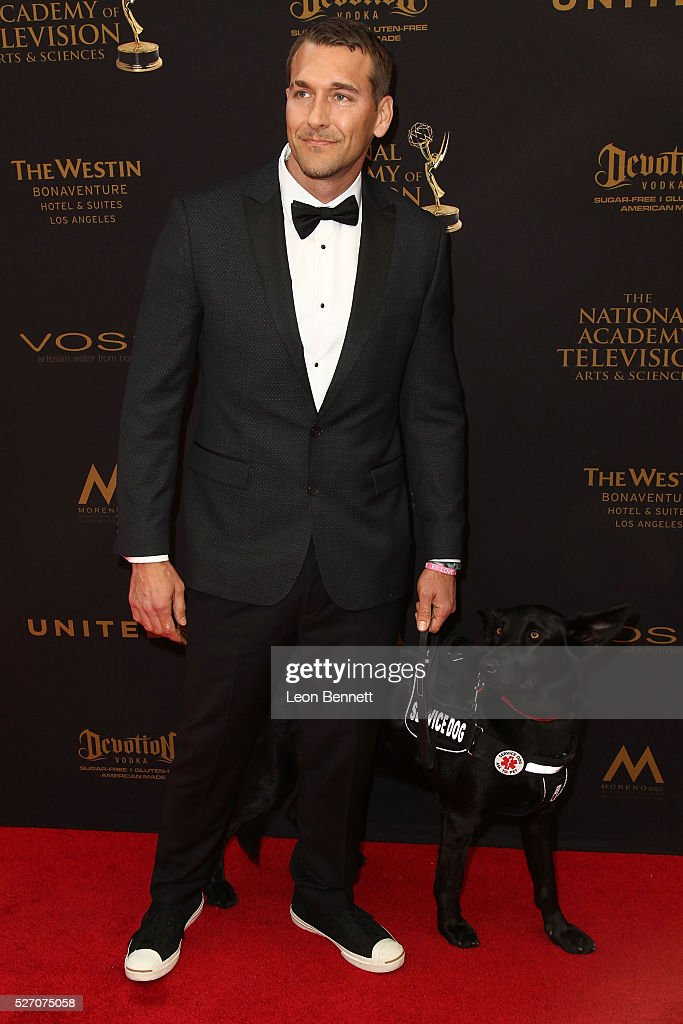 Actor Brandon McMillan attends the 2016 Daytime Emmy Awards - Arrivals at Westin Bonaventure Hotel on May 1, 2016 in Los Angeles, California.