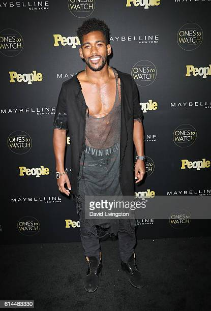 Actor Brandon Mychal Smith arrives at People's 'Ones to Watch' at EP LP on October 13 2016 in West Hollywood California