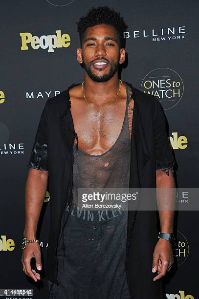 Actor Brandon Mychal Smith attends People's 'Ones To Watch' party at EP LP on October 13 2016 in West Hollywood California