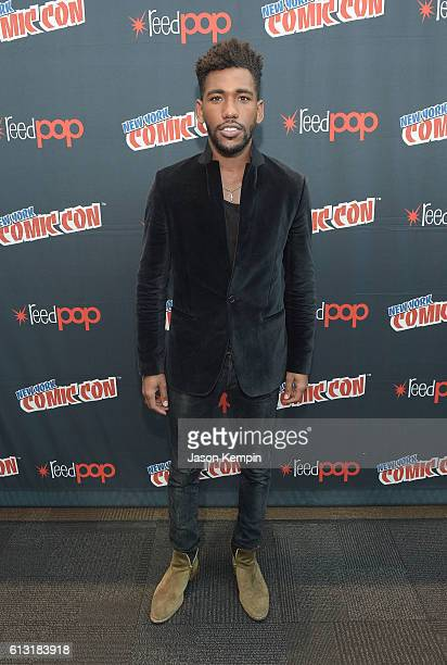 Actor Brandon Mychal Smith attends the Sweet/Vicious press junket at New York Comic Con at Javits Center on October 7 2016 in New York City
