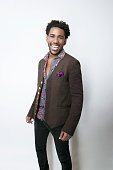Actor Brandon Mychal Smith is photographed for TV Guide Magazine on January 16 2015 in Pasadena California
