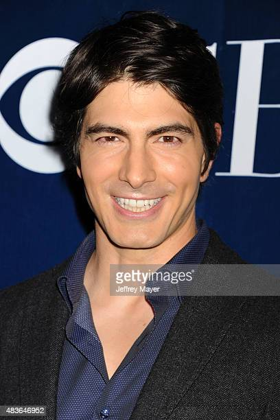Actor Brandon Routh arrives at the CBS CW And Showtime 2015 Summer TCA Party at Pacific Design Center on August 10 2015 in West Hollywood California