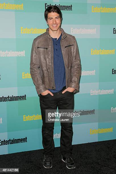 Actor Brandon Routh arrives at the Entertainment Weekly celebration at Float at Hard Rock Hotel San Diego on July 11 2015 in San Diego California