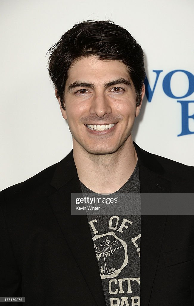 Actor <a gi-track='captionPersonalityLinkClicked' href=/galleries/search?phrase=Brandon+Routh&family=editorial&specificpeople=220651 ng-click='$event.stopPropagation()'>Brandon Routh</a> arrives at the premiere of Focus Features' 'The World's End' at ArcLight Cinemas Cinerama Dome on August 21, 2013 in Hollywood, California.