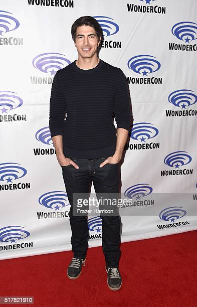Actor Brandon Routh attends DC's Legends of Tomorrow panel at WonderCon 2016 at Los Angeles Convention Center on March 27 2016 in Los Angeles...