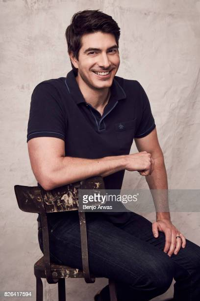 Actor Brandon Routh of CW's 'DC's Legends of Tomorrow' poses for a portrait during the 2017 Summer Television Critics Association Press Tour at The...
