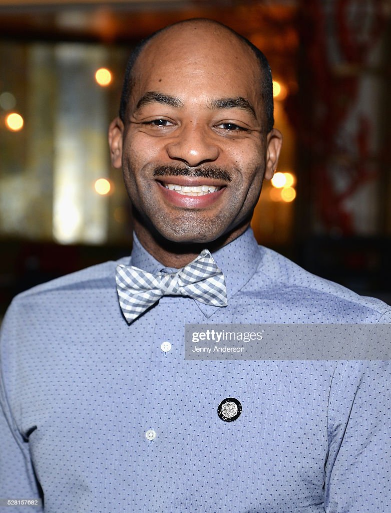 Actor <a gi-track='captionPersonalityLinkClicked' href=/galleries/search?phrase=Brandon+Victor+Dixon&family=editorial&specificpeople=586065 ng-click='$event.stopPropagation()'>Brandon Victor Dixon</a> attends the 2016 Tony Awards Meet The Nominees Press Reception on May 4, 2016 in New York City.