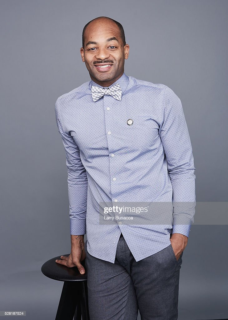 Actor <a gi-track='captionPersonalityLinkClicked' href=/galleries/search?phrase=Brandon+Victor+Dixon&family=editorial&specificpeople=586065 ng-click='$event.stopPropagation()'>Brandon Victor Dixon</a> poses for a portrait at the 2016 Tony Awards Meet The Nominees Press Reception on May 4, 2016 in New York City.