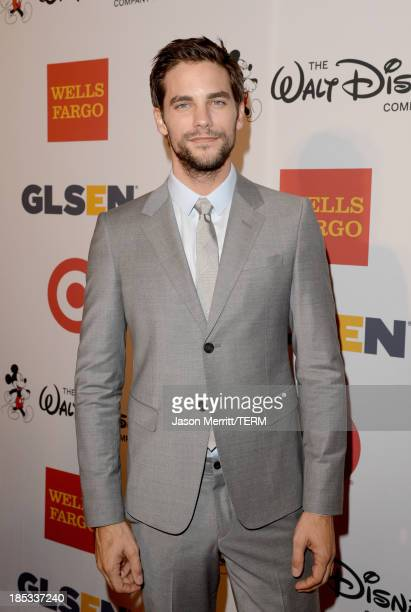 Actor Brant Daugherty arrives at the 9th Annual GLSEN Respect Awards at Beverly Hills Hotel on October 18 2013 in Beverly Hills California