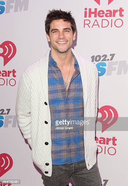 Actor Brant Daugherty attends KIIS FM's Jingle Ball 2013 at Staples Center on December 6 2013 in Los Angeles CA