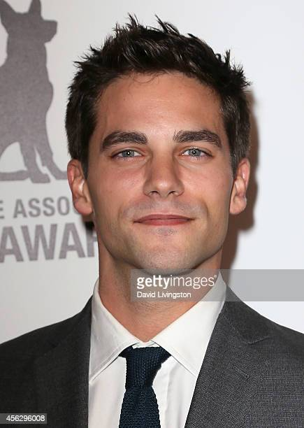 Actor Brant Daugherty attends the 4th Annual American Humane Association Hero Dog Awards at The Beverly Hilton Hotel on September 27 2014 in Beverly...