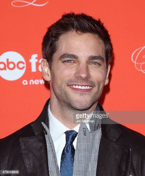 Actor Brant Daugherty attends the 'Pretty Little Liars' season finale screening at Ziegfeld Theater on March 18 2014 in New York City