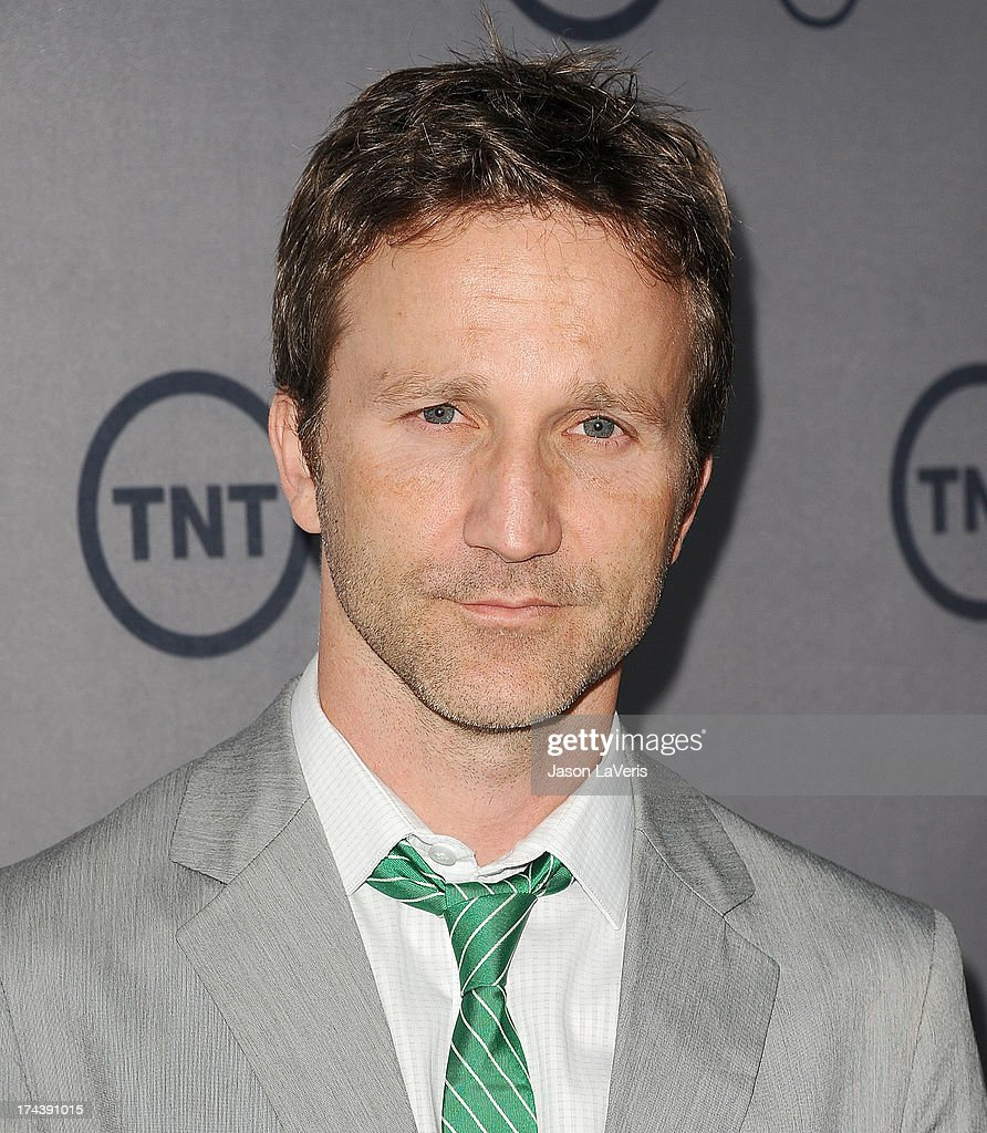 Actor <a gi-track='captionPersonalityLinkClicked' href=/galleries/search?phrase=Breckin+Meyer&family=editorial&specificpeople=1550680 ng-click='$event.stopPropagation()'>Breckin Meyer</a> attends TNT's 25th anniversary party at The Beverly Hilton Hotel on July 24, 2013 in Beverly Hills, California.