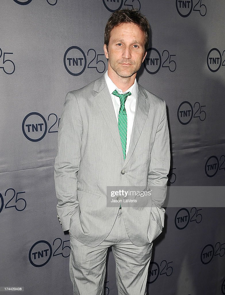 Actor Breckin Meyer attends TNT's 25th anniversary party at The Beverly Hilton Hotel on July 24, 2013 in Beverly Hills, California.