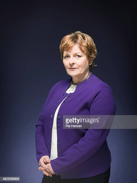 Actor Brenda Blethyn is photographed for the Times on February 14 2014 in London England
