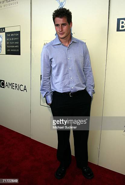 Actor Brendan Fehr arrives at the BAFTA/LAAcademy of Television Arts and Sciences Tea Party at the Century Hyatt on August 26 2006 in Century City...