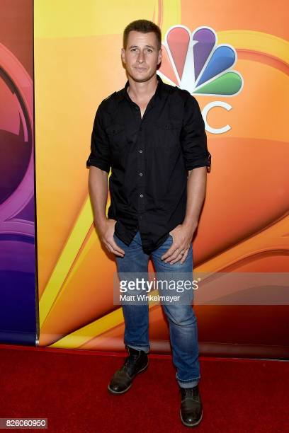 Actor Brendan Fehr at the NBCUniversal Summer TCA Press Tour at The Beverly Hilton Hotel on August 3 2017 in Beverly Hills California
