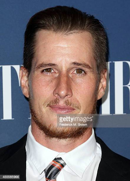 Actor Brendan Fehr attends NBC Vanity Fair's 20142015 TV Season Event at HYDE Sunset Kitchen Cocktails on September 16 2014 in West Hollywood...
