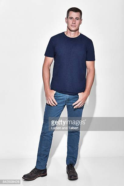 Actor Brendan Fehr is photographed for Entertainment Weekly Magazine at the ATX Television Fesitval on June 10 2016 in Austin Texas