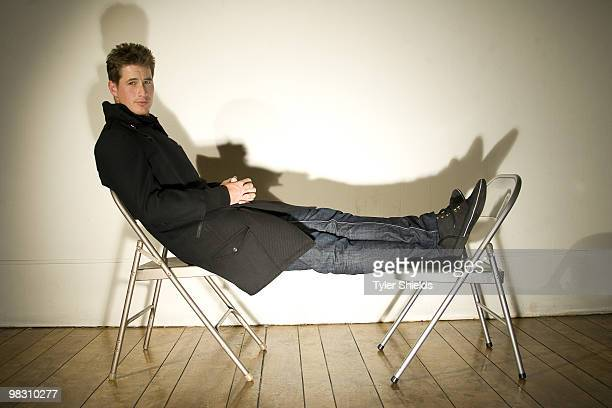 Actor Brendan Fehr poses at a portrait session for Self Assignment in Los Angeles CA on March 18 2007