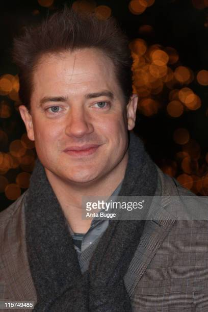 Actor Brendan Fraser attends the 'Inkheart' world premiere on December 9 2008 in Berlin Germany