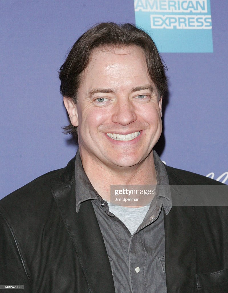 Actor <a gi-track='captionPersonalityLinkClicked' href=/galleries/search?phrase=Brendan+Fraser&family=editorial&specificpeople=209269 ng-click='$event.stopPropagation()'>Brendan Fraser</a> attends the premiere of 'Whole Lotta Sole' during the 2012 Tribeca Film Festival at BMCC Tribeca PAC on April 21, 2012 in New York City.