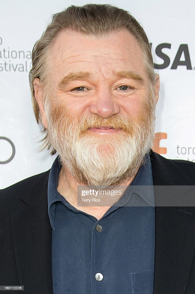 Actor <a gi-track='captionPersonalityLinkClicked' href=/galleries/search?phrase=Brendan+Gleeson&family=editorial&specificpeople=238979 ng-click='$event.stopPropagation()'>Brendan Gleeson</a> attends 'The Grand Seduction' premiere during the 2013 Toronto International Film Festival at Roy Thomson Hall on September 8, 2013 in Toronto, Canada.