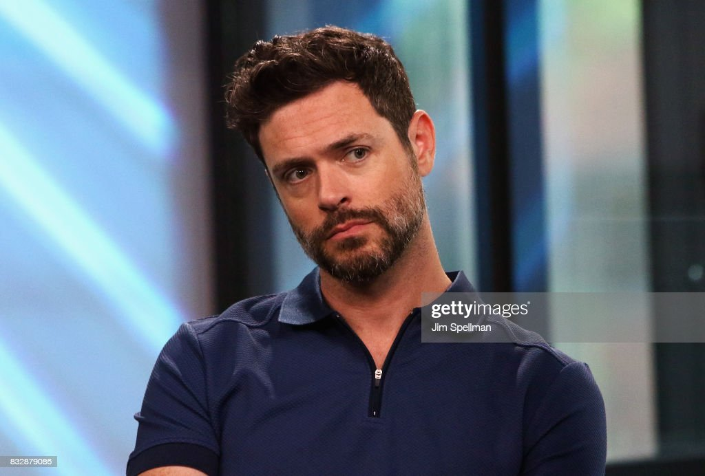 Actor Brendan Hines attends Build to discuss 'The Tick' at Build Studio on August 16, 2017 in New York City.