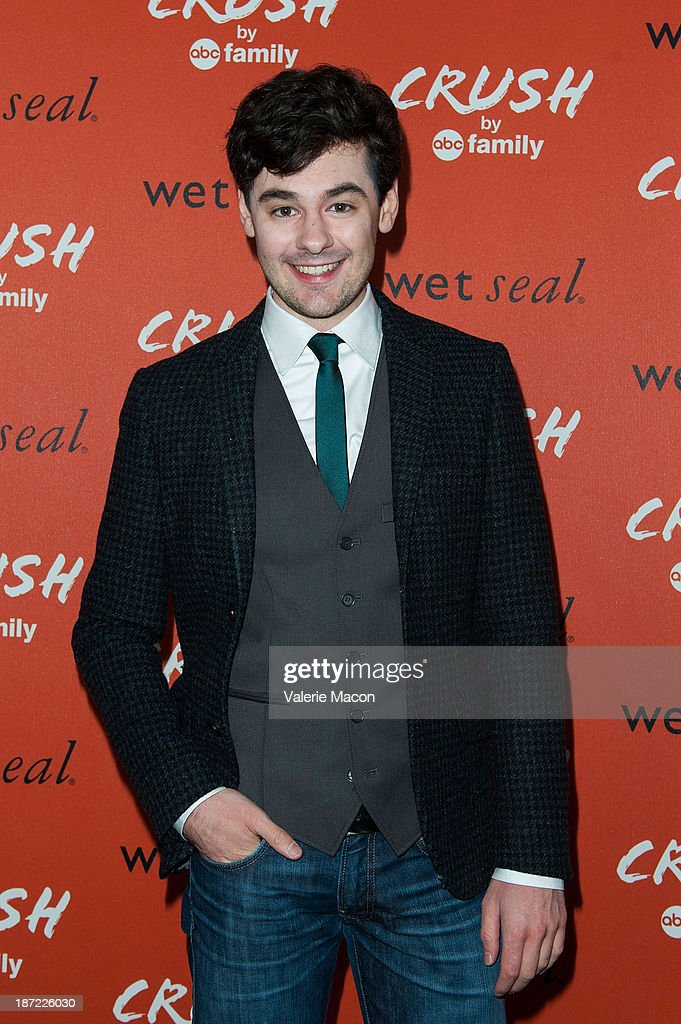 Actor Brendan Robinson arrives at the Launch Celebration Of Crush By ABC Family at The London Hotel on November 6, 2013 in West Hollywood, California.