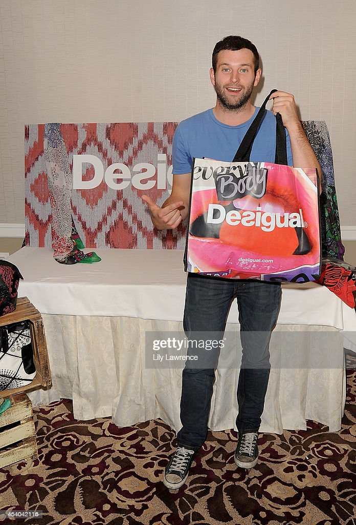Actor Brent Morin attends the HBO Luxury Lounge featuring PANDORA at Four Seasons Hotel Los Angeles at Beverly Hills on August 23, 2014 in Beverly Hills, California.