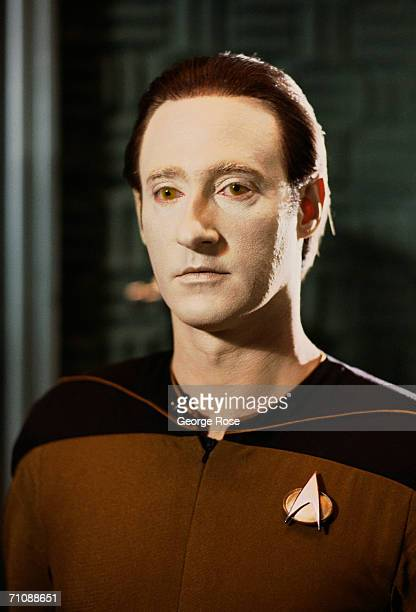 Actor Brent Spiner plays Commander Data Science Officer on the hit TV show 'Star Trek The Next Generation' The series aired in 1987 and ran to 1994...