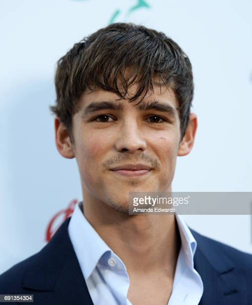 Actor Brenton Thwaites arrives at The 9th Annual Australians In Film Heath Ledger Scholarship Dinner at the Sunset Marquis Hotel on June 1 2017 in...