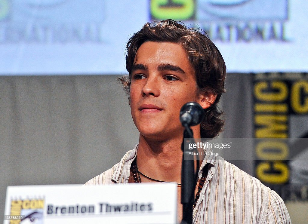 Actor Brenton Thwaites at 'The Giver' Presentation ComicCon International 2014 held at San Diego Convention Center on July 24 2014 in San Diego...