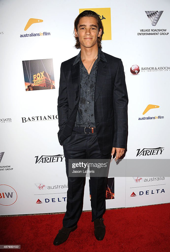 Actor Brenton Thwaites attends the 3rd annual Australians in Film Awards benefit gala at Fairmont Miramar Hotel on October 26 2014 in Santa Monica...