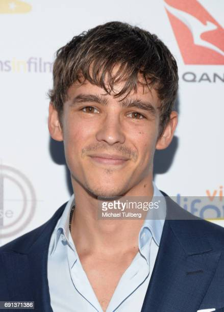 Actor Brenton Thwaites attends the 9th Annual Australians In Film Heath Ledger Scholarship Dinne at Sunset Marquis Hotel on June 1 2017 in West...
