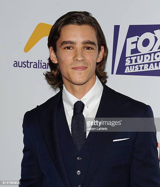 Actor Brenton Thwaites attends the Australians In Film 5th annual awards gala on October 19 2016 in Los Angeles California