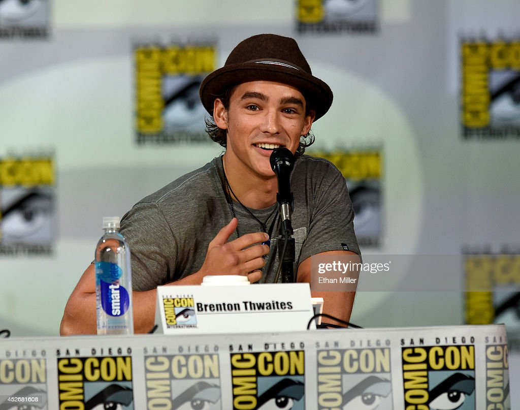 Actor <a gi-track='captionPersonalityLinkClicked' href=/galleries/search?phrase=Brenton+Thwaites&family=editorial&specificpeople=10008512 ng-click='$event.stopPropagation()'>Brenton Thwaites</a> attends the Entertainment Weekly: Brave New Warriors panel during Comic-Con International 2014 at the San Diego Convention Center on July 25, 2014 in San Diego, California.