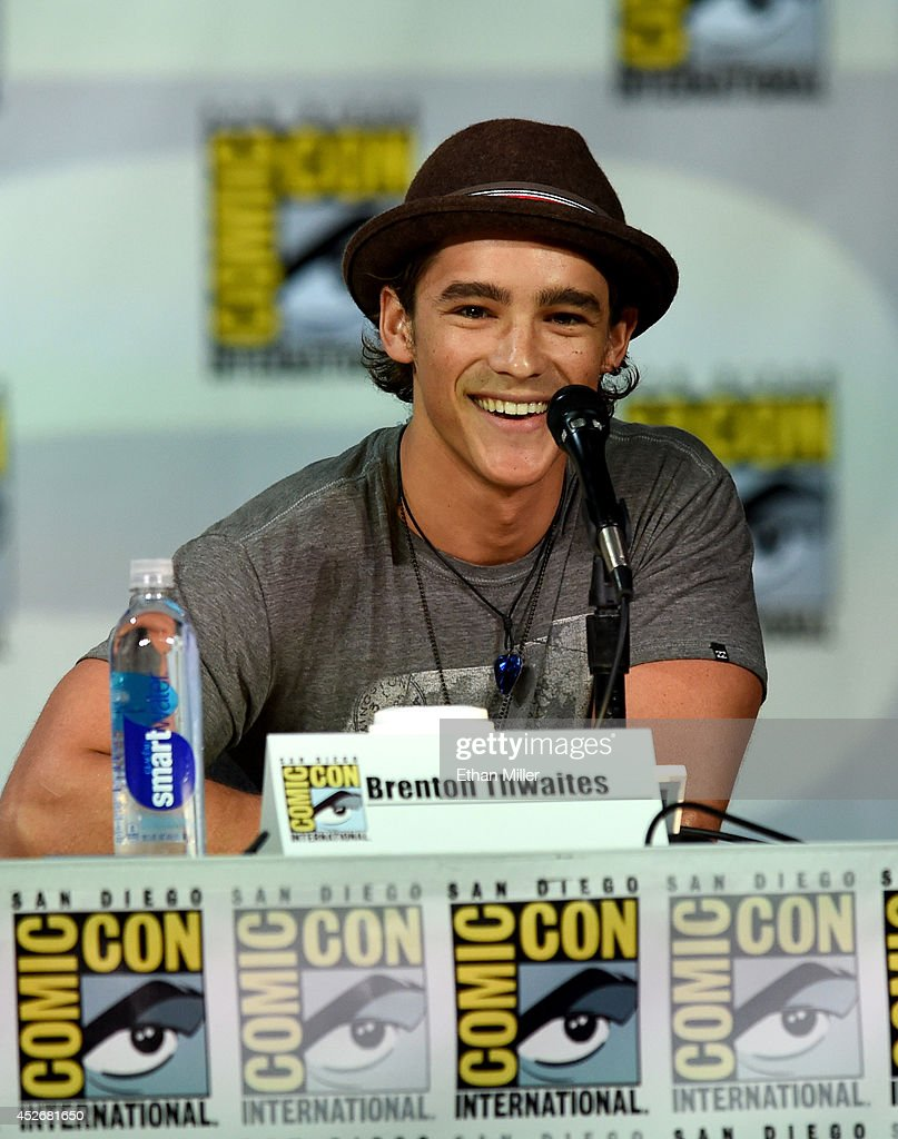 Actor Brenton Thwaites attends the Entertainment Weekly: Brave New Warriors panel during Comic-Con International 2014 at the San Diego Convention Center on July 25, 2014 in San Diego, California.