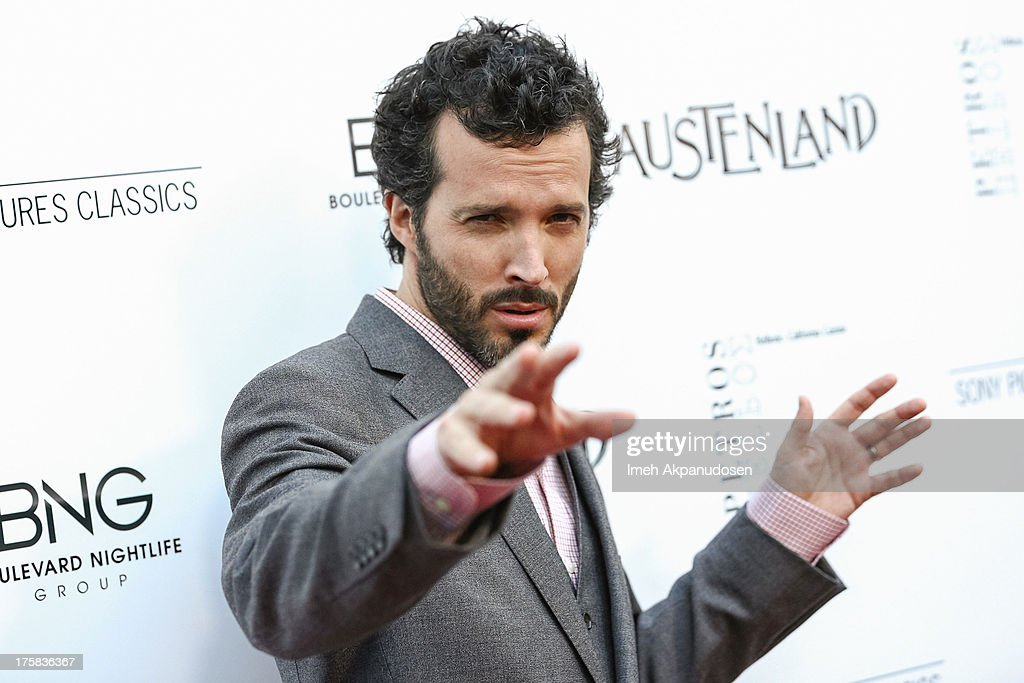 Actor <a gi-track='captionPersonalityLinkClicked' href=/galleries/search?phrase=Bret+McKenzie&family=editorial&specificpeople=4329701 ng-click='$event.stopPropagation()'>Bret McKenzie</a> attends the premiere of Sony Pictures Classics' 'Austenland' at ArcLight Hollywood on August 8, 2013 in Hollywood, California.
