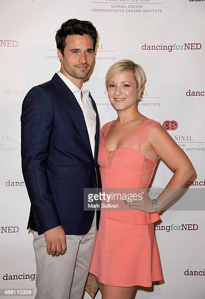 Actor Brett Dalton and designer Melissa Trn attends the 2nd Annual Dancing for NED Benefit at Unici Casa Gallery on May 3 2014 in Culver City...