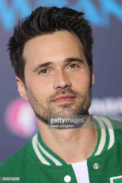 Actor Brett Dalton arrives at the AFI FEST 2016 presented by Audi premiere of Disney's 'Moana' held at the El Capitan Theatre on November 14 2016 in...