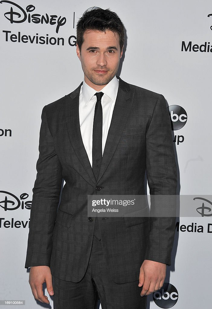 Actor Brett Dalton arrives at the Disney Media Networks International Upfronts at Walt Disney Studios on May 19, 2013 in Burbank, California.