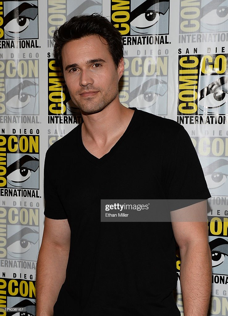 Actor Brett Dalton attends Marvel's 'Agents of S.H.I.E.L.D.' press line during Comic-Con International 2013 at the Hilton San Diego Bayfront Hotel on July 19, 2013 in San Diego, California.