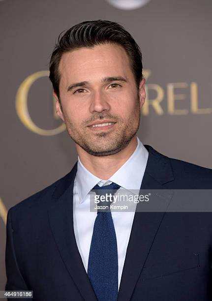 Actor Brett Dalton attends the premiere of Disney's 'Cinderella' at the El Capitan Theatre on March 1 2015 in Hollywood California